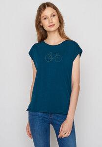 Damen Shirt Bike Golden Bike Tender - GreenBomb