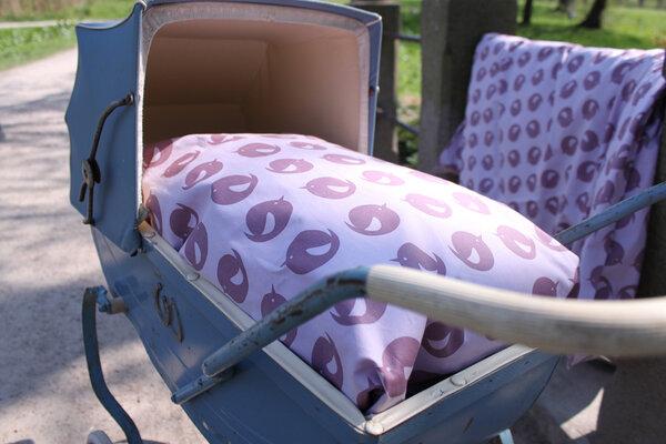 pusling bessere sachen f r kinder baby bettw sche lila avocadostore. Black Bedroom Furniture Sets. Home Design Ideas