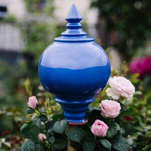 Rosenkugel aus Keramik, handgetöpfert - Servus am Marktplatz