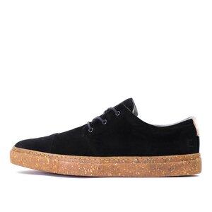 '58 Black Velours recycelte Stoff-Sneaker - SORBAS