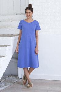 Midi Kleid aus Bio Baumwolle - Dila Dress - Amparo Blue - Suite 13