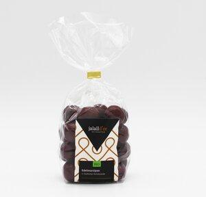 Marzipan in Zartbitterschokolade bio vegan 250 g oder 90 g Geschenkverpackung - Jalall D´or