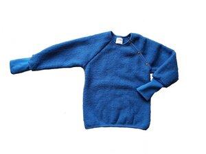 Kinder Wollfleece Pullover mit Bündchen - Ulalü