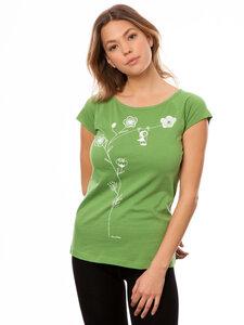 FellHerz Damen T-Shirt Schaukelmädchen pine - FellHerz