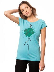 FellHerz Damen T-Shirt Dance neptune - FellHerz