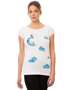 FellHerz Damen T-Shirt Camping Girl - FellHerz
