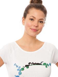 FellHerz Damen T-Shirt Lazy Day - FellHerz