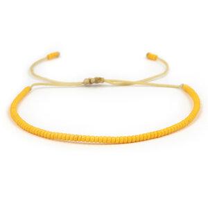 Freundschaftsarmband / Armband aus Glasperlen – Simaru-Project - Simaru