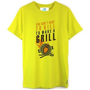 Shirt Veggie Grill aus Biobaumwolle - Gary Mash