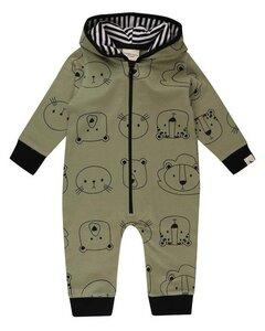 Baby Langarm Overall *Cub Face* GOTS & BIO   Turtledove London - Turtledove London