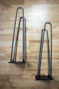 Hairpin legs Tischbeine für Skateboards - Skatan-llc