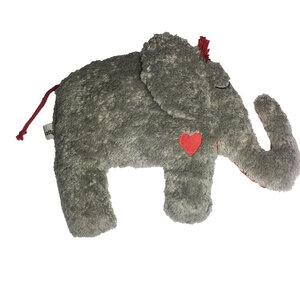 "Greifling mit Rassel ""Elefant"" ,grau ,PAT & PATTY , 100 % Baumwolle-kbA - Pat und Patty"