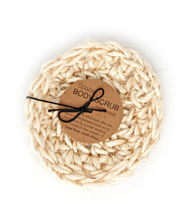 Peeling Schwamm aus Sisal, 100% biologisch abbaubar - Spaza