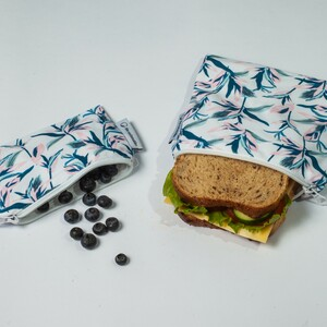 3er Set Snack Bags | Plastikfrei | Sandwich Taschen | Brotbeutel | Kulturbeutel - the sustainables
