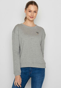 Damen Sweatshirt 100% Biobaumwolle Animal Kiwi Canty - GreenBomb