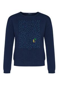 Damen Sweatshirt 100% Biobaumwolle Nature Summer Rain Canty - GreenBomb