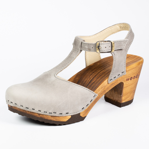 Carolin - Woody - der Holzschuh mit biegsamer Holzsohle