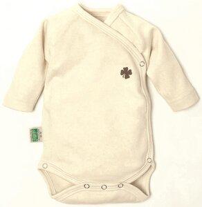 Lotties Baby-Wickelbody langarm Kleeblatt Bio Baumwolle 50-68 - Lotties