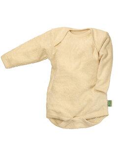 Lotties Baby-Body langarm natur Bio Frottee 50/56-110/116 - Lotties