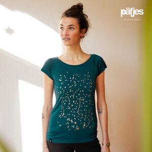 Konfetti V2 - Fair gehandeltes Tencel Frauen T-Shirt - päfjes