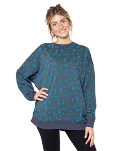 Damen Oversize Pullover aus Bio-Baumwolle 'Camilla' - CORA happywear