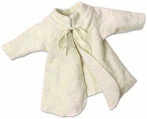 Lotties Frühchen Baby Jäckchen Flügelhemd Bio Frottee 44-68 - Lotties