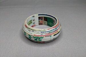 "Armreif aus Recyclingpapier ""MIRIAM MAKEBA"" - PEARLS OF AFRICA"