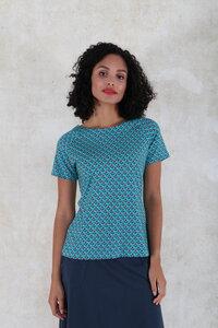 """T-Shirt aus Bambus-Fasern und Bio-Baumwolle """"Zoe tulip"""" - Lykka du Nord"""