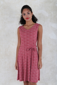 "Kleid aus Bambus-Faser ""Colette fruits"" - Lykka du Nord"