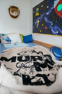 KOLTER Kinderdecke Murmeli aus Bio-Baumwolle - Kolter