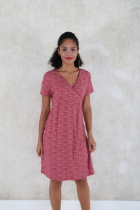 "Kleid aus Bambus-Faser ""Chloe fruits"" - Lykka du Nord"