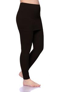 Skirt Leggings aus Bio Baumwolle - Milchshake