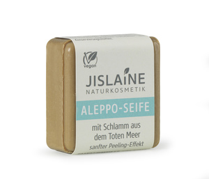 Aleppo-Seife mit Schlamm aus dem Toten Meer, 100g - Jislaine Naturkosmetik