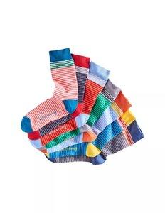7er Pack gestreifte Socken - Deerberg