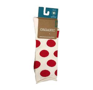 Socken mit großen Punkten - Bulus organic Textilien GmbH