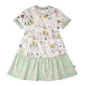 """T-Shirt Kleid aus Bio Baumwolle """"Buttercup"""" - Marraine Kids"""