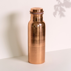 Kupfer Trinkflasche graviert in 900ml oder 600ml - Forrest & Love