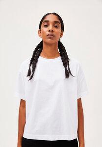 KAJAA - Damen T-Shirt aus merzerisierter Bio-Baumwolle - ARMEDANGELS