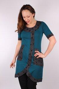 Fairtrade Damen Kurzarmkleid aus Bio-Baumwolle Henriette - NEPALAYA