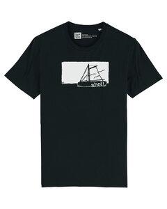 Herren T-Shirt mit Schiff Ahoi aus 100% Biobaumwolle - ilovemixtapes