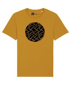 Herren T-Shirt mit Wellen im Kreis aus 100% Biobaumwolle - ilovemixtapes