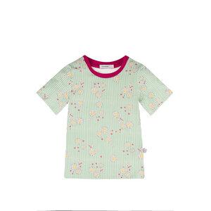 T-Shirt aus Bio Baumwolle mit Alloverdruck - Marraine Kids