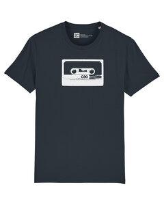 Herren Retro T-Shirt mit C90 Kassette aus 100% Biobaumwolle - ilovemixtapes
