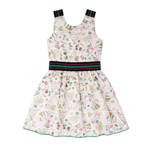 "Buntes Bio Baumwolle Kleid ""Camellia"" - Marraine Kids"