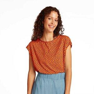 Gepunktetes Shirt WILMA aus zertifizierter Baumwolle (Bio) - WiDDA berlin