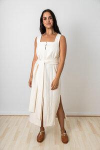 Kleid Shantia Creme - Jyoti - Fair Works