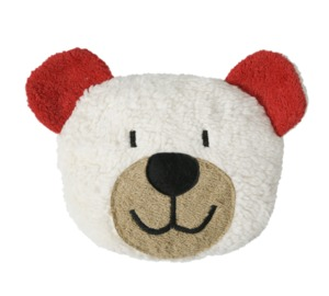 Dinkelkorn-Wärmekissen Teddy, rot (KbA) - Efie