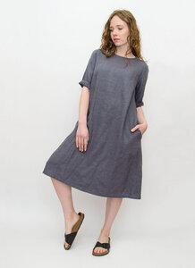 Leinen Kleid - Fri Organics
