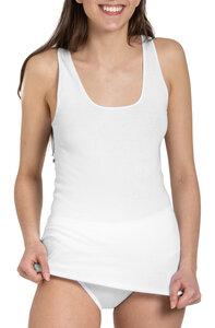 Damen Top Feinripp 5er Pack - Haasis Bodywear
