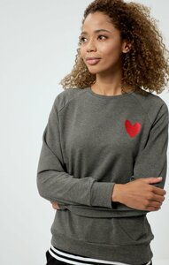 LOUNGE SWEATER HEART - OGNX